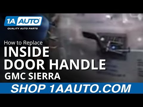Great How To Install Replace Inside Door Handle Chevy Silverado GMC Sierra Yukon  1AAuto.com