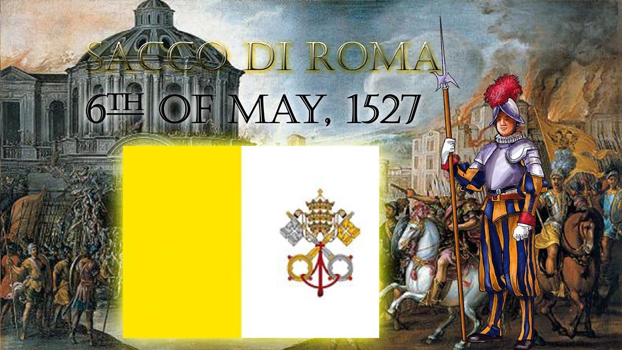 Sacco di Roma | Sack of Rome | 6/5/1527 - YouTube