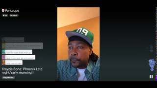 Krayzie Bone Live Stream about his upcoming projects (CTD, Weed, R&B, TL, Fixtape 5, Leathaface 2)