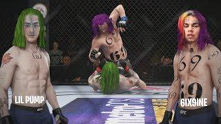 Lil Pump Vs 6IX9INE (EA SPORTS UFC 3)