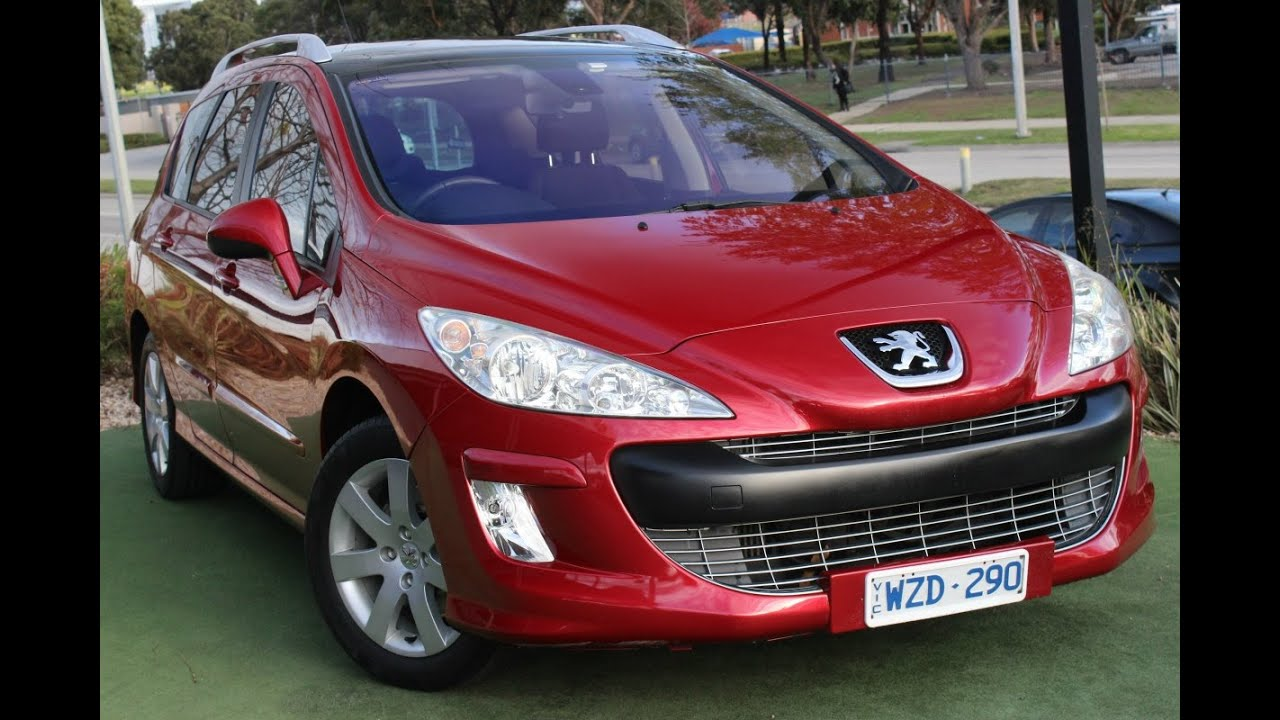 B5347 - 2009 Peugeot 308 XSE Auto Review - YouTube