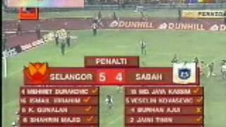 Selangor vs Sabah 1996 Final