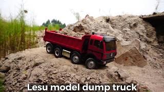 Rc dump truck Lesu 1/14