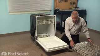 Dishwasher Repair - Replacing the Bottom Gasket (Frigidaire Part # 154759101)
