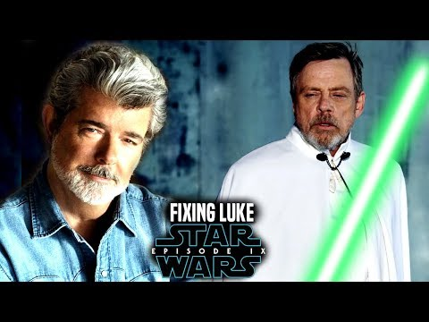 Star Wars! George Lucas Will Fix Luke In Episode 9! Exciting News & More