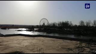 عشرات القتلى بغرق عبارة في نهر دجلة قرب الموصل (21-3-2019)