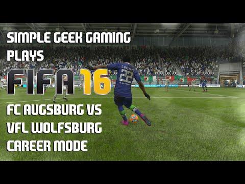FIFA 16 Career Mode, Bundesliga: FC Augsburg vs VfL Wolfsburg