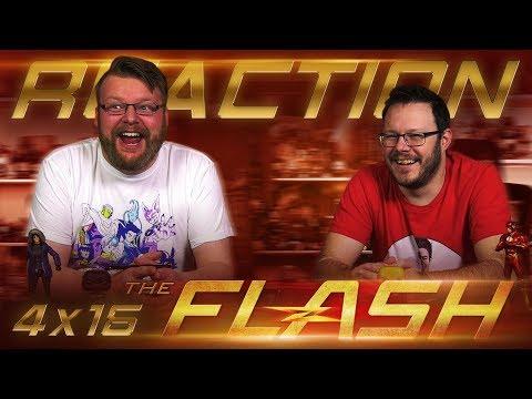 "The Flash 4x16 REACTION!! ""Run, Iris, Run"""