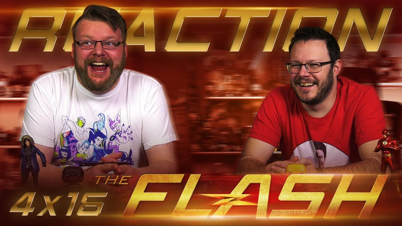 The Flash 4x16 REACTION!!