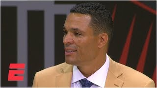 Tony Gonzalez highlights Chiefs and Falcons memories during Hall of Fame speech   NFL on ESPN