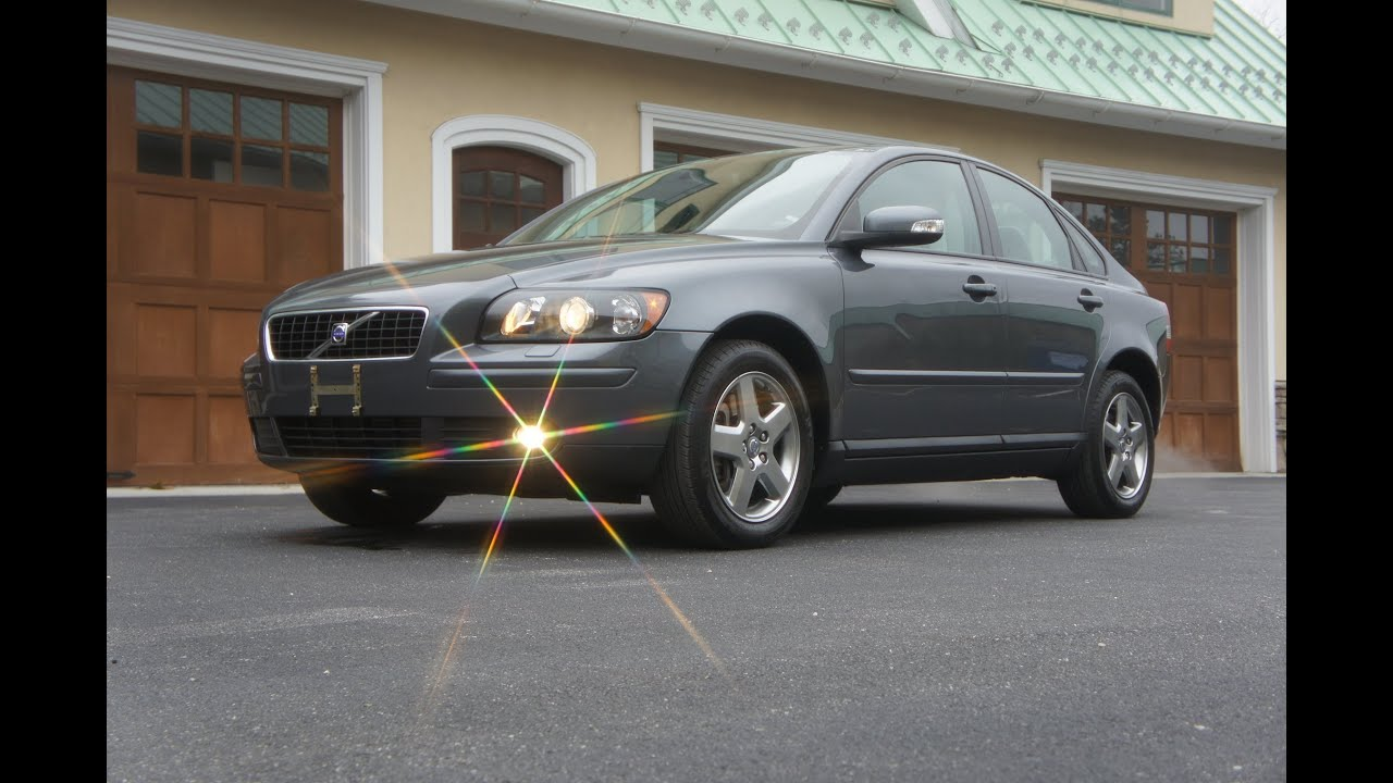 SOLD~~2007 Volvo S40 T5 AWD For Sale~All Wheel Drive~Turbo~Heated Seats~Very Rare 6 Speed Manual ...