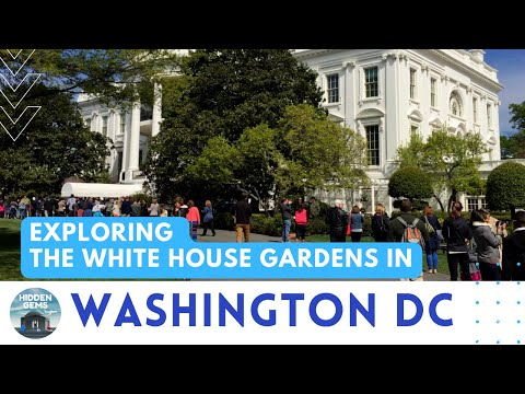 2015 White House Garden Tour