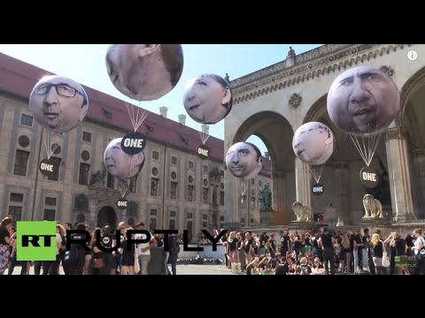 "Germany: ""We want more than hot air"" - Youth pressure G7 over poverty pledges"
