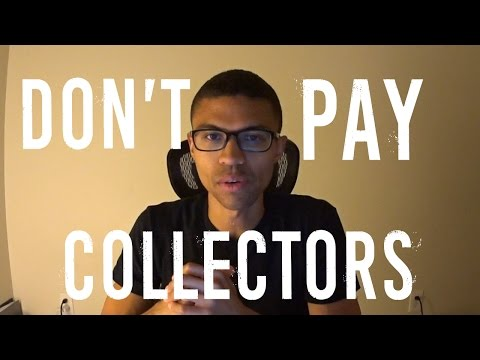 Don't Pay Debt Collectors || Fair Debt Collection Practices Act || Don't Pay 3rd Party Collectors