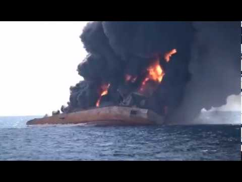 Vessel Sanchi Sinking after burning for a week |sea-connect| sailordiary|