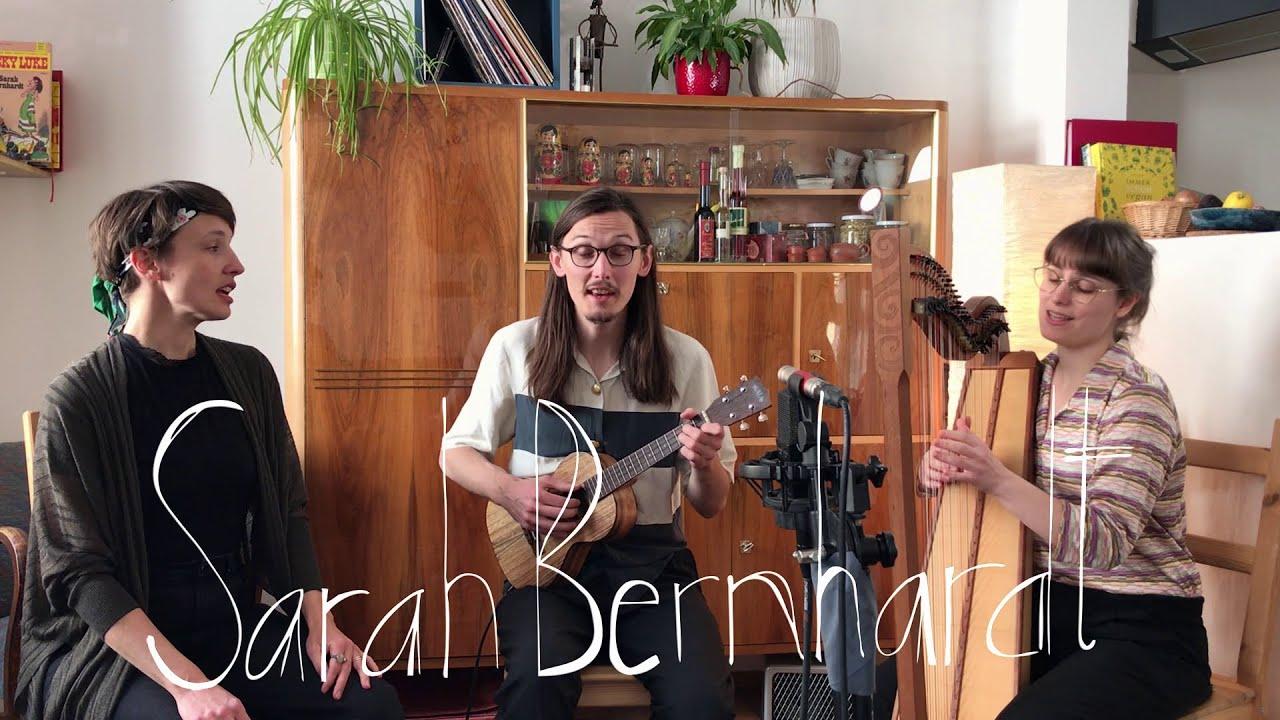 Wohnzimmerkonzertchen mit SarahBernhardt