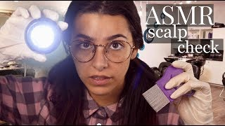ASMR Lice Check Roleplay (Scalp massage, Shampoo, Light triggers, Mouth sounds, Hair Brushing...)