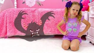 Настя и странный гость под кроватью