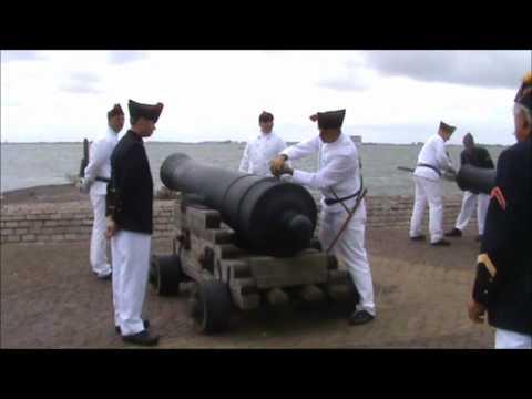 Kanon Schieten Vesting Hellevoetsluis 2010