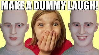 Make A Dummy Laugh or Smile Challenge!