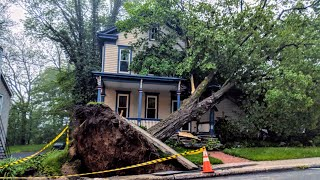 Massive Thunderstorm (with tornados) leaves a trail of destruction in Pennsylvania