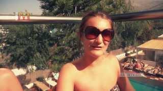 MaliaTV - Girls On Holidays @ Primavera Beach Hotel Malia Crete Greece (Pharrell Williams - Happy)