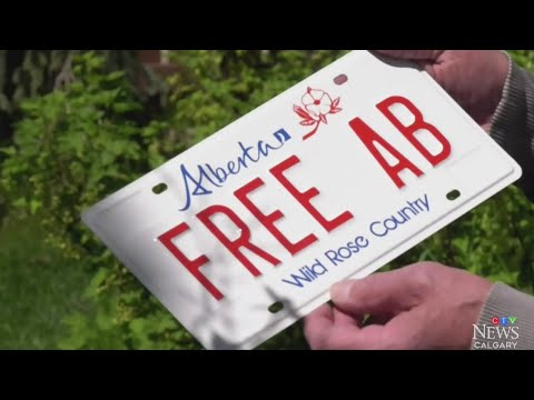 Calgary Man Wins Court Case For Personalized 'Free Alberta' License Plate