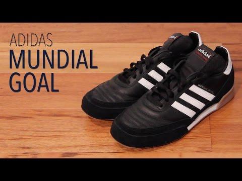 Adidas Mundial Goal Indoor BlackWhite UNBOXING