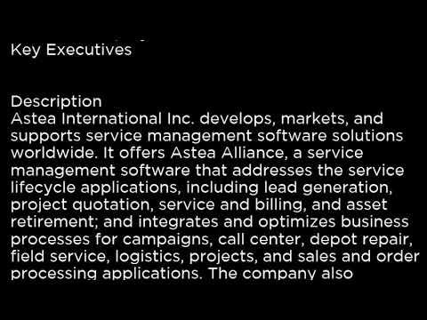 ATEA Astea International Inc  ATEA buy or sell Buffett read basic