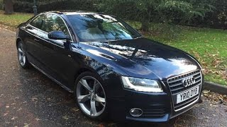 All new Audi A5 Coupe 2012