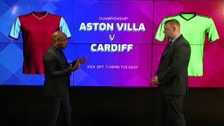 ASTON VILLA v CARDIFF CITY | CHAMPIONSHIP PREVIEW WITH PAUL PARKER