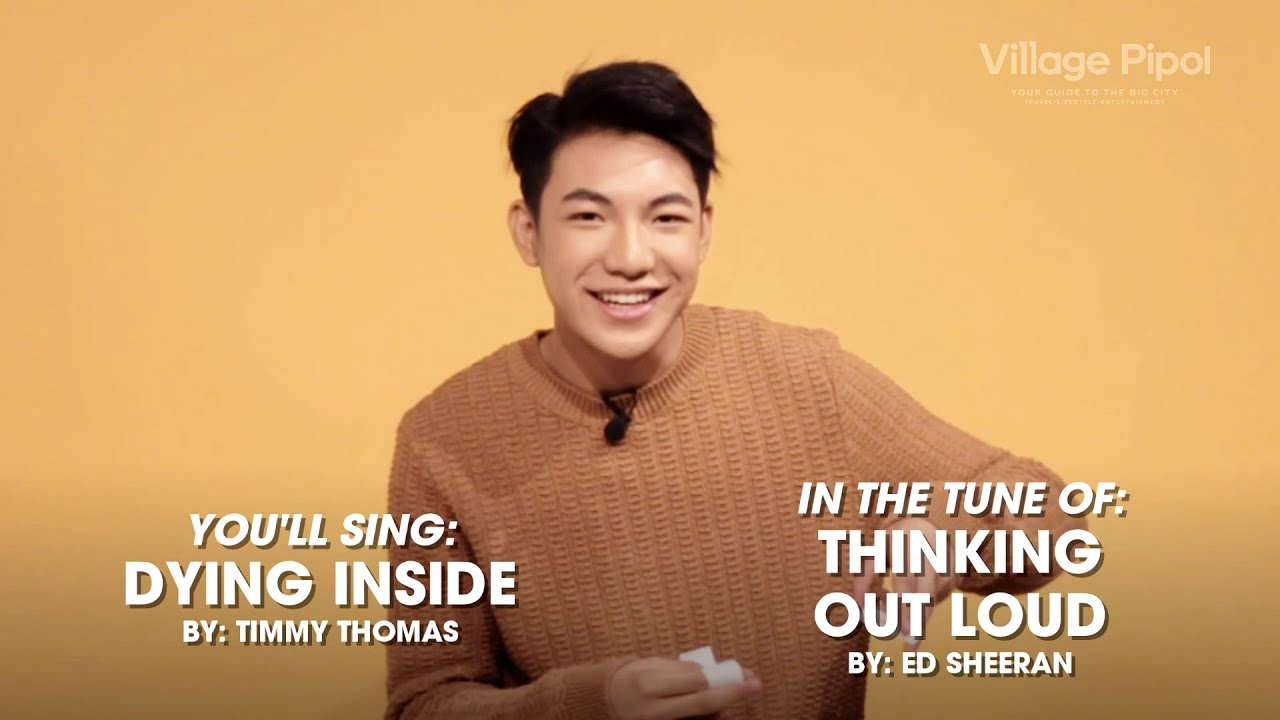 WATCH: Will Darren Espanto nail our 'Sing it to the Tune of' Challenge?