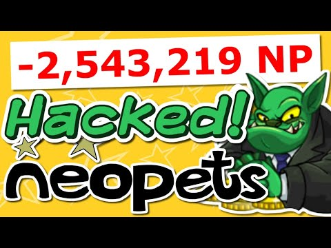My Account Was Hacked (The Neopets Experience #6)