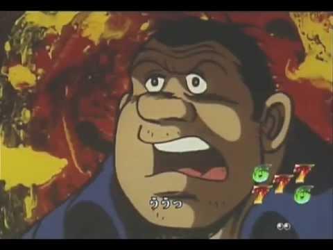 少年院時代の力石とジョーの決闘シーン。圧倒的力の差のある力石に対し、ジョーは必殺のクロスカウンターを決められるのか。 「Pachinko Movie...