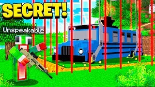 FINDING THE SECRET BATTLE BUS! | BATTLE ROYALE MINECRAFT!