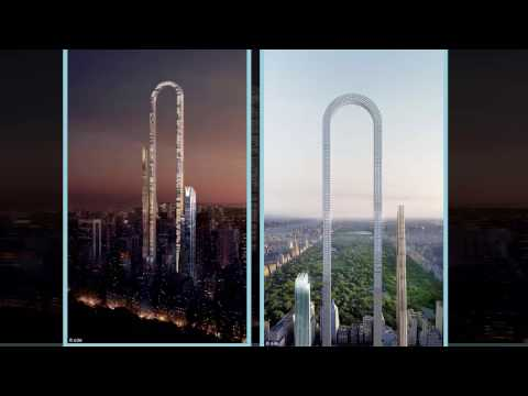 The Big Bend  Plans for incredible u shaped New York skyscraper unveiled