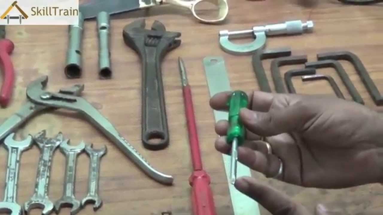 Introduction To The Tools Used In Electrical Training Part 1 Hindi