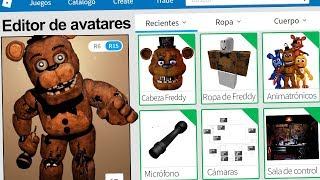 created the profile of FREDDY FNAF in ROBLOX! | Rovi23 Roblox