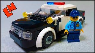 Как сделать полицейскую машину из Лего / Видео-инструкция