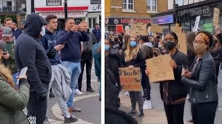 Black Lives Matter protesters told to 'go back to Africa' in Hertfordshire