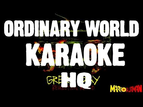 Green Day Ordinary World KARAOKE HQ