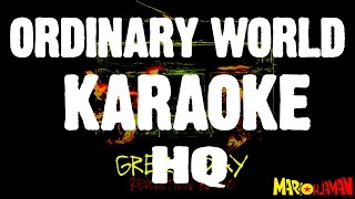 Green Day Ordinary World KARAOKE HQ