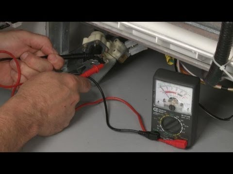 whirlpool washer wiring diagram ford truck trailer dishwasher not cleaning or filling properly? water inlet valve test – repair - youtube