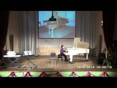 Отчетный концерт фортепианного отдела - 2014 Н. Скрябин Прелюдия ля минор исп. Франгулов Михаил