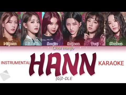 (G)-IDLE ,hann | Instrumental & Karaoke