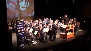Harlequin (Philip Sparke) - Nieuwjaarsconcert 2016 Kon. Gem. Harmonie Koksijde