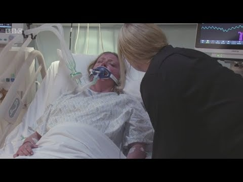 EastEnders - Jane Wakes Up From Her Coma And Tries To Tell Sharon About Max
