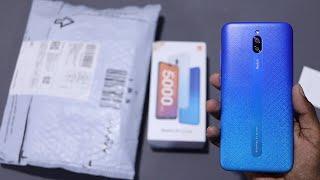 Redmi 8A Dual Indian Retail Unit Unboxing Sea Blue 3GB + 32GB
