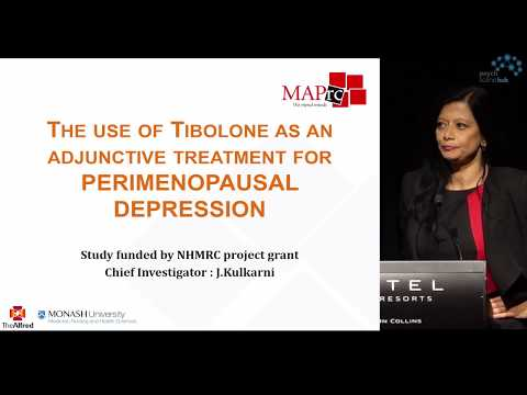 Tibolone As Adjunctive Treatment In Perimenopausal Depression By Professor Jayashri Kulkarni