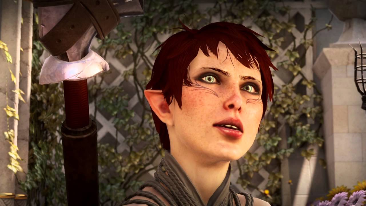 Dragon Age Inquisition Hot Elf Female Inquisitor Gameplay 2 Youtube